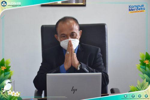 Kepala LLDIKTI Wilayah VIII. Prof Dr I Nengah Dasi Astawa,M.Si